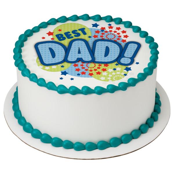 Best Dad PhotoCake® Edible Image®