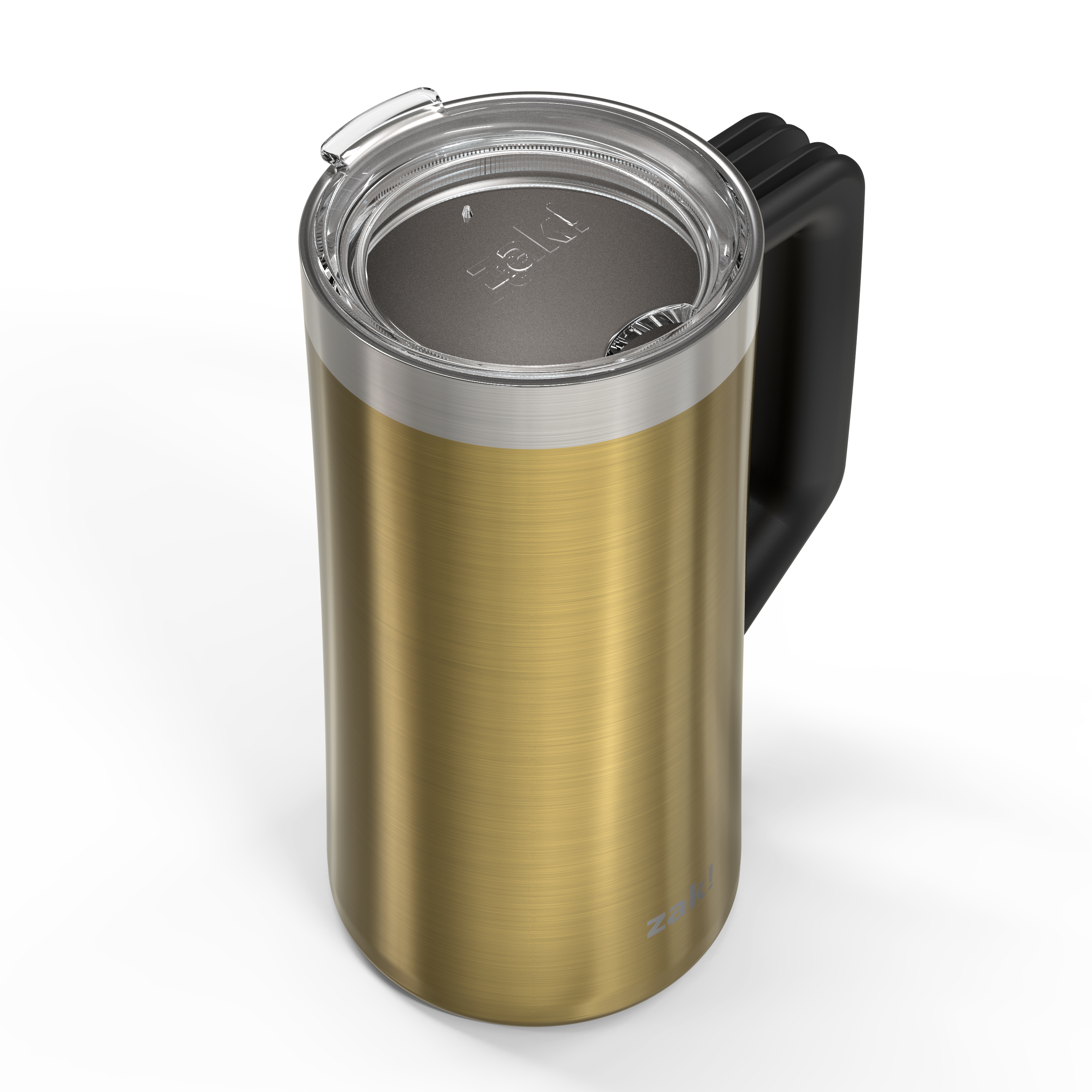 Creston 25 ounce Vacuum Insulated Stainless Steel Tumbler, Gold slideshow image 3