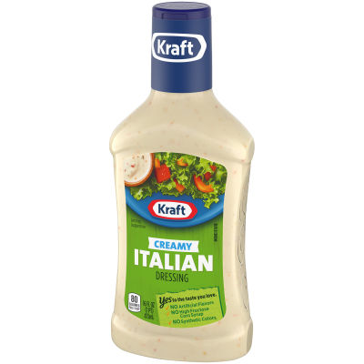 Kraft Creamy Italian Dressing 16 fl oz Bottle