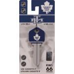 NHL Toronto Maple Leafs Key Blank