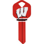 NCAA University of Wisconsin Key Blank