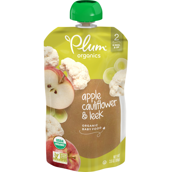 Apple, Cauliflower & Leek Baby Food