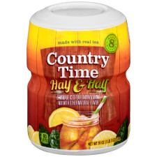 Country Time Half Lemonade & Half Iced Tea Drink Mix 19 oz Jar