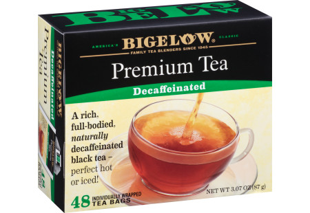 Premium Black Decaf Tea - Case of 6 boxes - total of 288 teabags