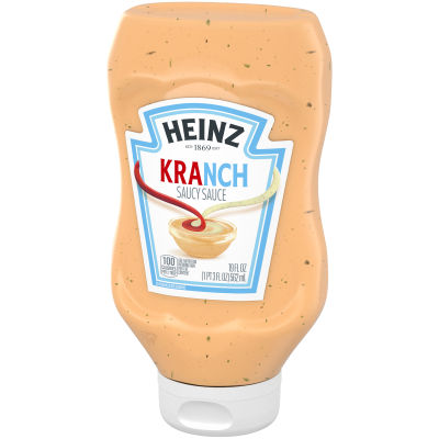 Heinz Kranch Sauce Ketchup & Ranch Sauce Mix, 19 oz Bottle