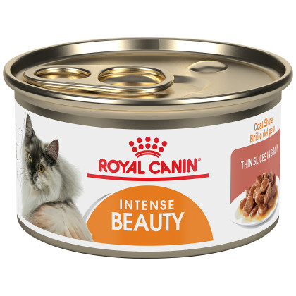 Intense Beauty Thin Slices in Gravy Canned Cat Food