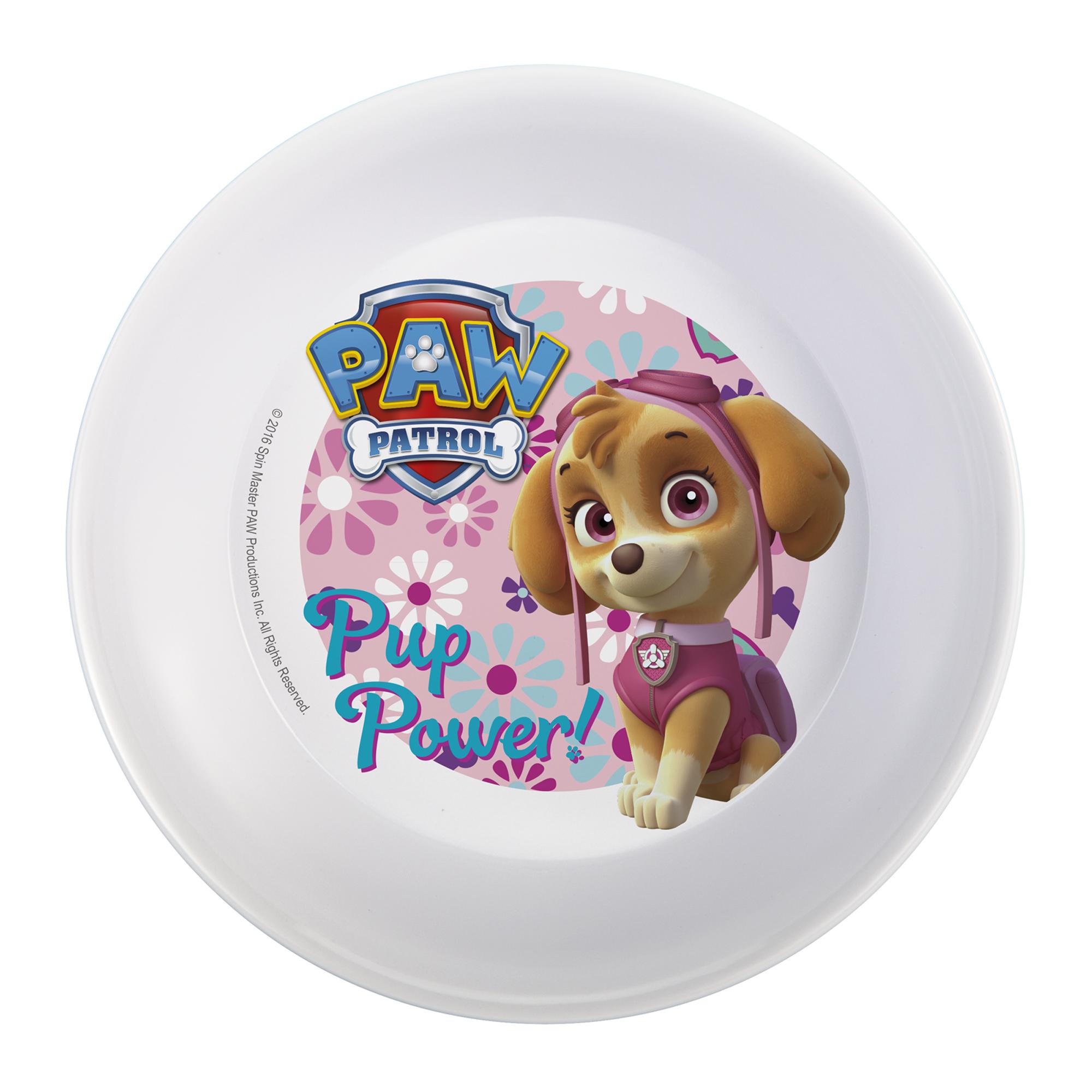 Paw Patrol Kids Dinnerware Set, Skye & Everest, 3-piece set slideshow image 5