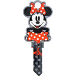 Disney Shaped Minnie Mouse Key Blank