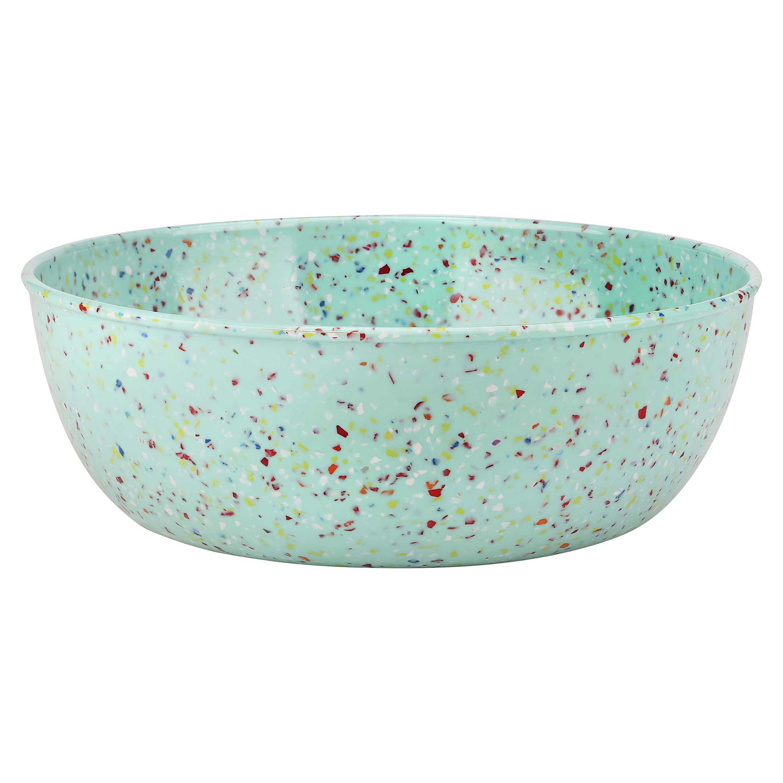 Confetti 3 quart Serving Bowl, Mint slideshow image 2