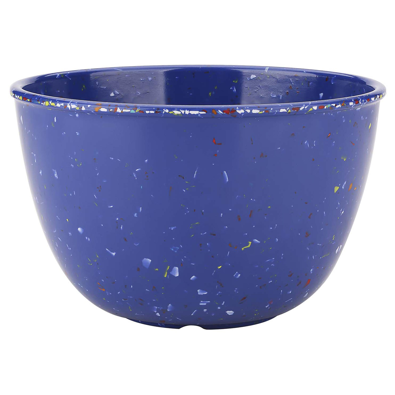 Confetti 24 ounce Soup Bowl, Blue, 6-piece set