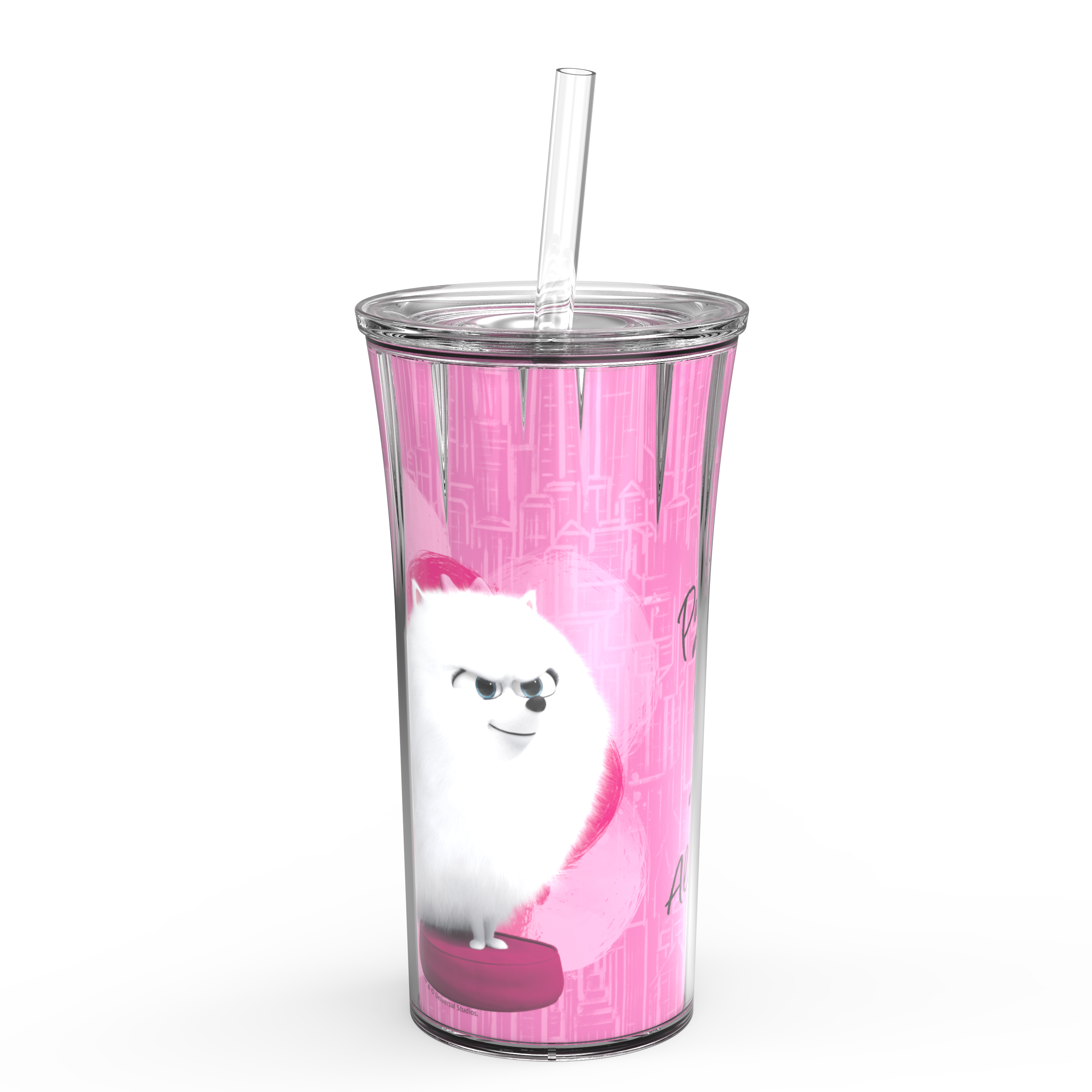 Secret Life Of Pets 2 20 ounce Insulated Tumbler, Gidget slideshow image 1
