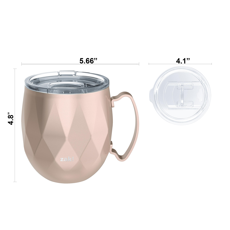 Fractal 19 ounce Mule Mug, Rose Gold slideshow image 4