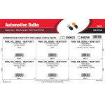 Heavy Duty Stop & Signal Automotive Bulbs Assortment (#3057 & #3057NA)