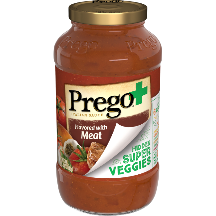 Prego Hidden Veggies with Meat