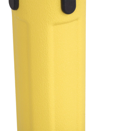 Sentry Stanchion - Yellow with Black Belt 3