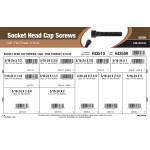"""Socket-Head Cap Screws Assortment (5/16""""-24 Thread)"""