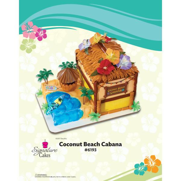 Coconut Beach Cabana Signature DecoSet® The Magic of Cakes® Page