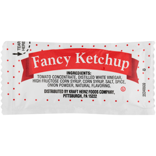 PPI Single Serve Fancy Ketchup, 9 gr. Packets (Pack of 500)