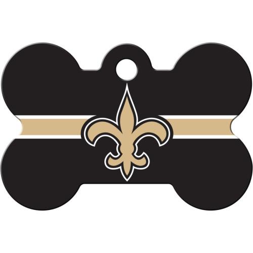 New Orleans Saints Large Bone Quick-Tag 5 Pack