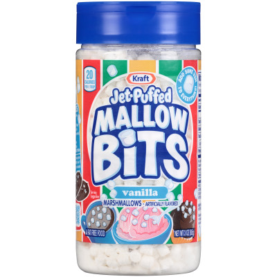 Jet-Puffed Mallow Bits Vanilla 3 oz Bottle