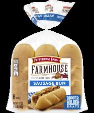 (17 ounces) Pepperidge Farm® Farmhouse™ Sausage Buns, split and toasted