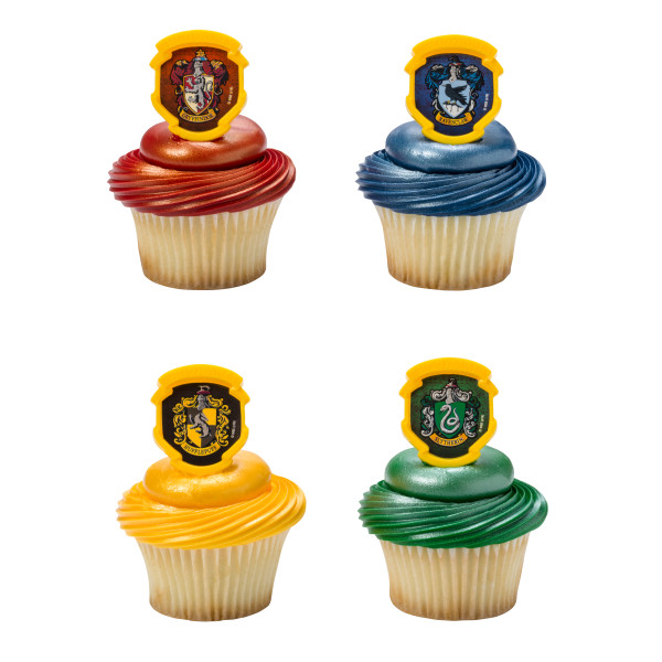 HARRY POTTER™ HOGWARTS™ Houses Cupcake Rings