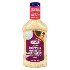 Kraft Creamy Poppyseed Dressing, 475mL