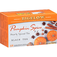 Pumpkin Spice Tea - Case of 6 Boxes - total of 108 teabags