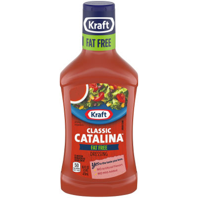 Kraft Catalina FatFree Dressing 16 fl oz Bottle