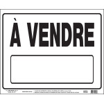 "French For Sale Sign, 19"" x 24"""