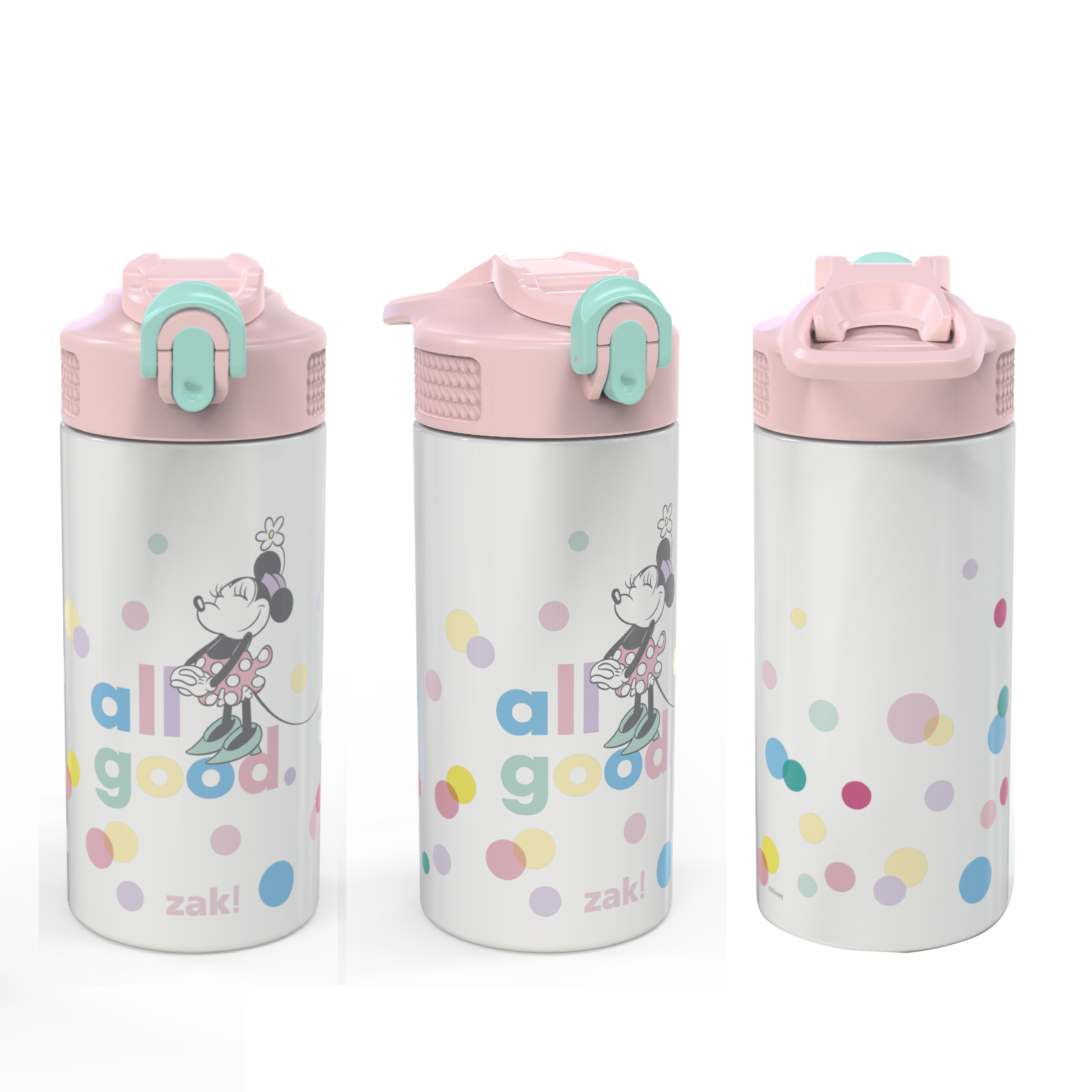 Disney 14 ounce Stainless Steel Vacuum Insulated Water Bottle, Minnie Mouse slideshow image 3