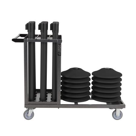 Statesman Cart Bundle - Black Steel 8
