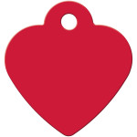 Red Small Heart Quick-Tag