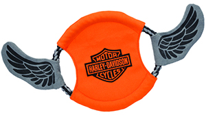 Harley-Davidson Canvas Rope Flyer Dog Toy
