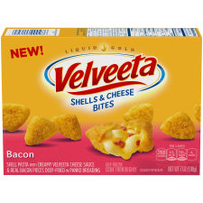 Velveeta Bacon Shells & Cheese Bites 7 oz Box