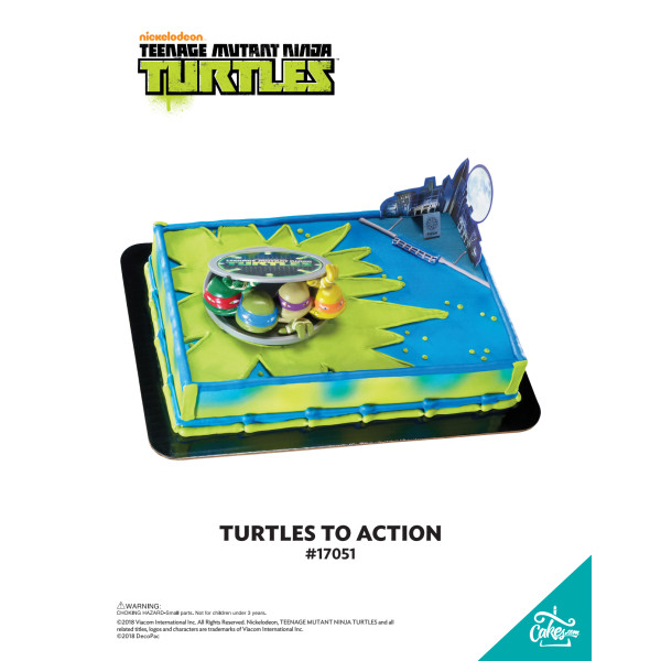 Teenage Mutant Ninja Turtles™ Turtles to Action DecoSet® The Magic of Cakes® Page