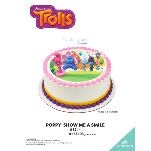 DreamWorks - Trolls Poppy Show Me a Smile DecoSet® The Magic of Cakes® Page
