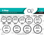 "Nitrile O-Ring Assortment (1/8"" & 3/16"" Width)"