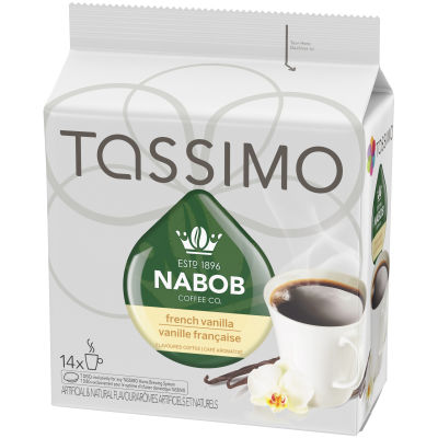 Tassimo Nabob French Vanilla Coffee Single Serve T-Discs