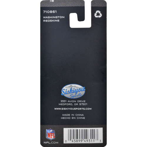NFL Washington Redskins Key Chain