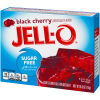 Jell-O Black Cherry Sugar-Free Instant Powdered Gelatin Dessert 0.6 oz Box