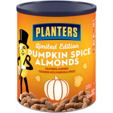 Planters Pumpkin Spice Almonds, 15.25 oz Can