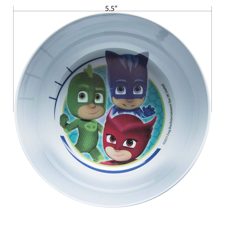 PJ Masks Kid's Dinnerware Set, Catboy, Owlette & Gekko, 3-piece set slideshow image 2