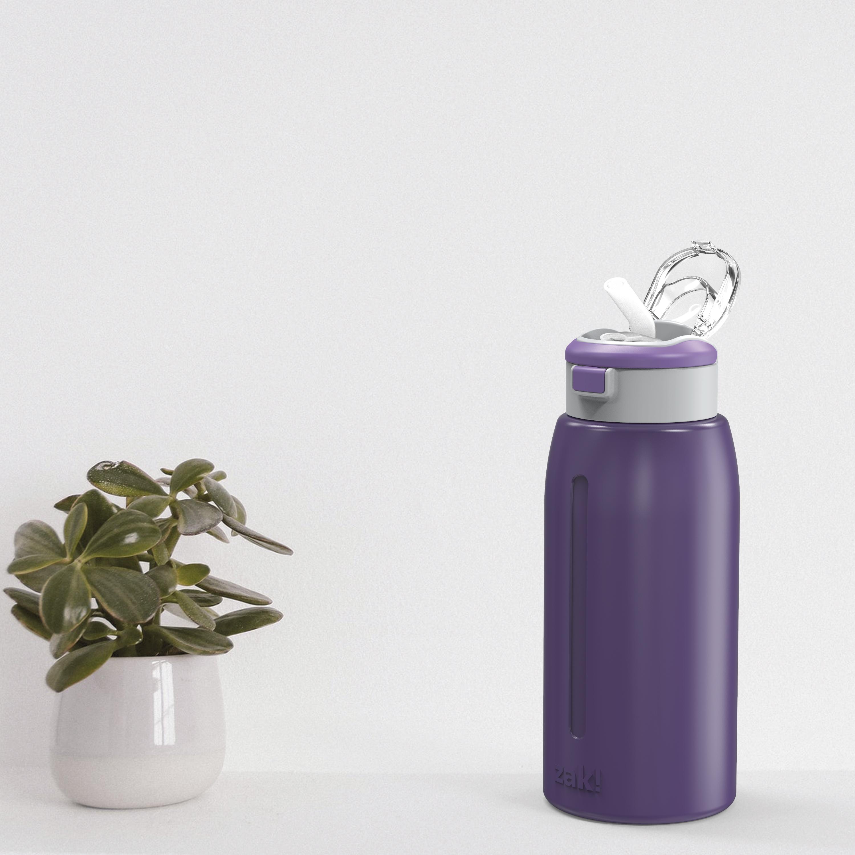 Genesis 32 ounce Stainless Steel Water Bottles, Viola slideshow image 4