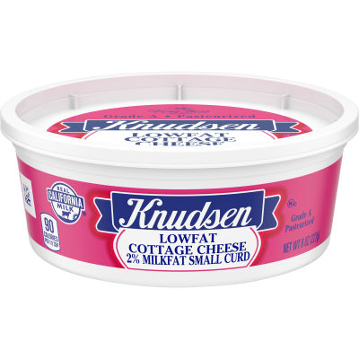 Knudsen Low Fat Cottage Cheese 8 oz Tub