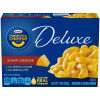 Kraft Deluxe Sharp Cheddar Macaroni & Cheese Dinner 14 oz Box