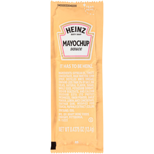 HEINZ Mayochup, 7/16 oz. Packets (Pack of 200)