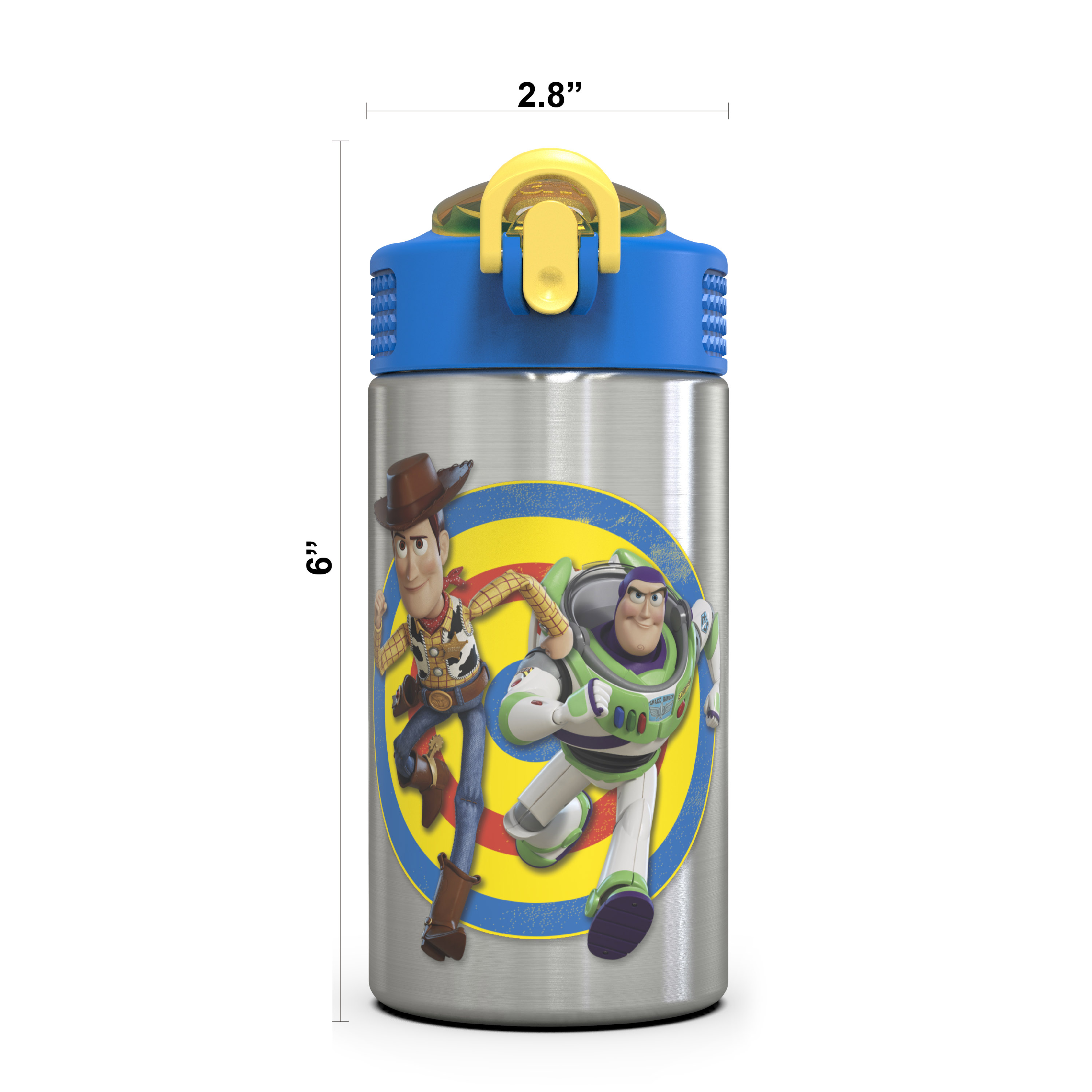 Toy Story 4 15.5 ounce Water Bottle, Buzz & Woody slideshow image 11