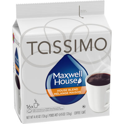Tassimo Maxwell House House Blend Coffee Single Serve T-Discs