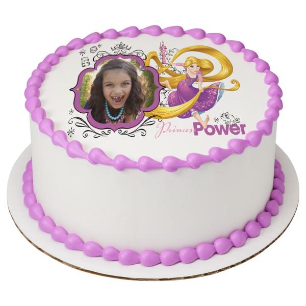 Disney Princess Rapunzel Princess Power PhotoCake® Edible Image® Frame